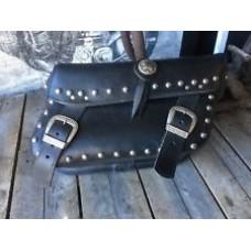 HARLEY DAVIDSON 100TH ANNIVERSARY  Heritage Softail Springer Leather Saddlebag Right 91300 01