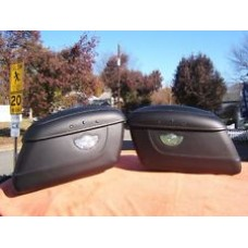 Harley-Davidson 100th Anniversary Leather Rigid Softail Saddlebags 92015-03