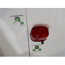 USED - Tail light assembly - red