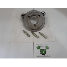USED - 2008 FLH High Flow Air breather backing plate for Twin Cam 96ci