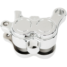 Arlen Ness Billet Brake Caliper Housing Front Left - Chrome -979504