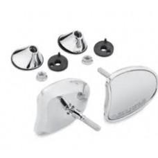 Harley-Davidson Tapered Fairing Mount Mirrors Chrome 56000098