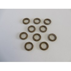 Factory Products, Small Pushrod Cover Corks, Ten Pack.
