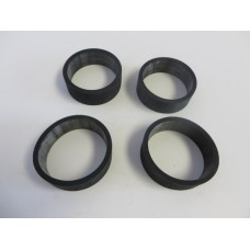 Factory Products, Viton Intake Rubber Sleeves, Four Pack.