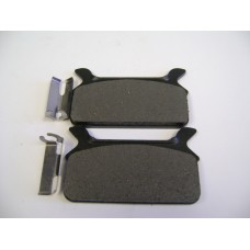 Factory Product, SEMI-METALLIC REAR Brake Pads, 86-96,43957-86