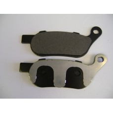 Factory Products, Rear Metallic And Kevlar Brake Pad.