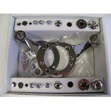 Factors Products, Chrome Carburetor Support Bracket.
