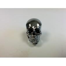 Chrome Dye Skull Black Eyed Seat Krommets 5/8