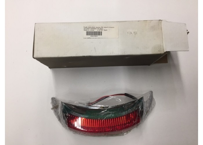 HARLEY DAVIDSON 09-19 FLHT RR LED FENDER TIP RED 20400643