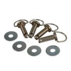 Fasteners,  Hard Saddlebag Mounting Pin Bolts,  oem 10900040