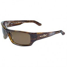 Wiley X SSSLK2, Gloss Tortoise Frames W/ Bronze & Brown Lenses