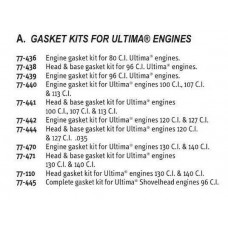 ULTIMA 4.400 BORE ENGINE; GASKETS KIT, #77-470J