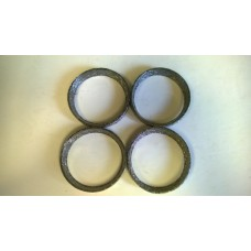 Factory Products, OEM Steel Mesh Exhaust Gasket, Four Pack.