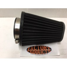 Replacement kone air filter with clamp....black