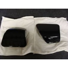 HARLEY DAVIDSON OEM  MEDIA DOOR, RIGHT SIDE ONLY, VIVID BLACK, TOURING FLTRXS 15-UP, 76000376DH - ID 1628